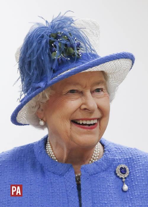 Photo of Her Majesty Queen Elizabeth II. Photo credit: PRESS ASSOCIATION / Danny Lawson